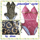 classic style! sexy foil printed Monokini swimsuits