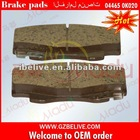 wholesale brake pads 04465-0K020 for TOYOTA HILUX VIGO