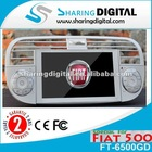 FIAT 500 Car DVD Navigation with tv steering wheel control picture in picture