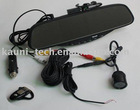 High quality Bluetooth rearview mirror car kit