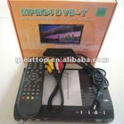 MPEG-2/MPEG4/H.264&Fully DVB-T Language Option French