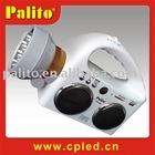 Portable speaker, MMC/SD mobile speaker (HI-FI) with led flashlight