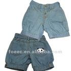 Fashionable child jeanswear