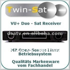 2012 VU DUO free shipping Satellite Receiver vu receiver VU+ Duo Twin Tuner Linux HDTV Receiver PVR Digital Satellite Receiver
