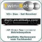 2012 VU DUO free shipping Satellite Receiver vu receiver VU+ Duo Twin Tuner Linux HDTV Receiver PVR Digital Satellite Receiver