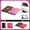 Amazing 360 rotating PU leather case for Mini iPad PD701