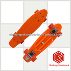 top quality professional red,PC deck, penny skateboard
