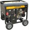9KVA Open Type Electric Start Portable Diesel Generator S10000D(E)3