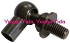 22-10-31mm black zinc plated metal Ball and socket Joint with M8 and M8