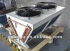 V-type air cooled condenser for refrigeration unit and condensing unit