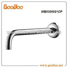12inch wall fixed round chrome shower head arm,WB0300021CP