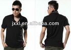 mens fashion pique polo shirt