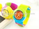 Cute children sports goods new elastic watch