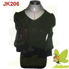 2012 New design Hotsale prints of flowers and beading casual short sleeve for Autumn and Winter Ladies Sweater Dress JK206