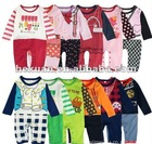 12 designs mixed ,Long sleeve romper baby's romper, boy's romper, girl's romper,