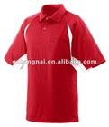 Polyester collar sport t shirts