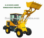 SINGLE BUCKET WHEEL LOADER ZL15
