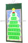 2010 Christmas tree organiser,Lovely Christmas bag,Hanging velboa organiser