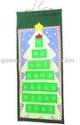 2010 Christmas tree organiser,Lovely Christmas bag,Hanging velboa organiser