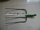 2012NEW ITEMS- 4&5 Teeth Steel fork with wood handle