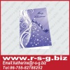 new arrival fashionable christmas gift card with printing