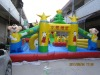 kids loving hot sale inflatable funcity game