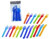 18pc plastic cutlery set