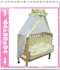baby wooden crib cot cradle bed