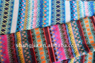100% Polyester Yarn Dyed Stripe Knitted fabric