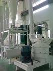 Air classifier mill for dregs of beans