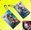 promotion gift pvc custom name luggage tag