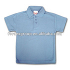 2012 latest short sleeve children's school polo shirts made of cotton with embroidery