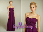 Suzhou Unique Waist Design Evening Dress and chiffon evening dress / F23