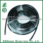 75ohm Crimp Type F Male With Cable RG6 RF Cable Assembly Manufacturer