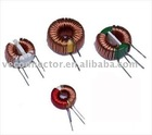 Toroid coil inductors with magnet coil