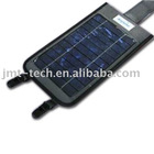 Solar Charger for cell phones mp3/4 with 900mah led lights
