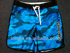 men beach microfiber swim short