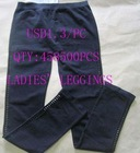 Stock ladies' leggings