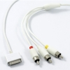 Audio Video AV Cable suitable for iPod/ iPhone/NANO3/Classic