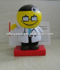 promotional gifts for doctors/ PU doctor name card stand