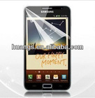 LCD Screen Clear Protector Film Cover for Samsung Galaxy Note i9220