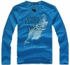 Custom Long Sleeve Men Tshirts