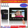 Wholesales 9 inch handsfree LCD color tcp/ip video door phone
