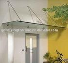 glass awning rail