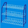 3 Tier Chromed Metal Wire Shose Rack Shose Shelf