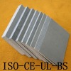 Magnesium exterior wall board