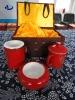 ceramic tableware,ceramic set,gift box,red bone china tablewre