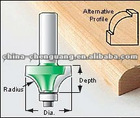 hottest woodworking cutters,bearing bit,