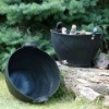 recycled tire basket,rubber storage basket