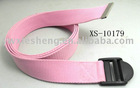 Yoga belt with plastic buckle